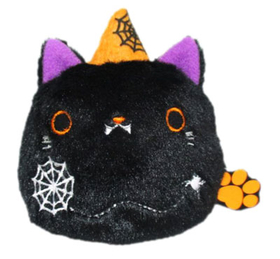 Neko Dango  Halloween  Collection plush beanie - Kuroneko