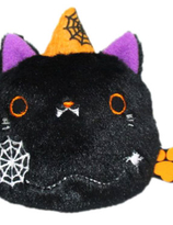 Neko Dango  Halloween  Collection plush beanie  -  Kuroneko