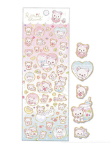 """Korilakkuma Vacation"" sticker"