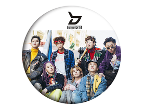 BLOCK  B  Badge