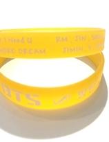 BTS handband - yellow