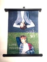 """BTS  """"Love Yourself""""  Poster  - RAP MONSTER & V"""