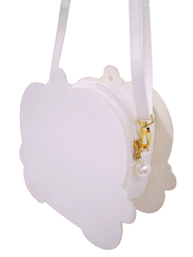 Swimmer Little Princess horse-drawn carriage motif shoulder bag