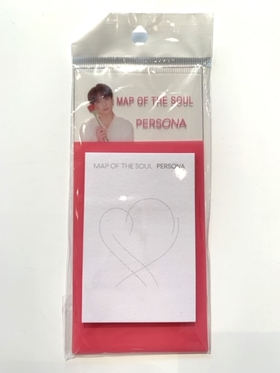 BTS - MAP OF THE SOUL : PERSONA  mini notepads  - JUNGKOOK