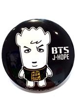 HIP HOP MONSTER BTS Badge - J-HOPE
