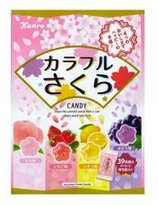 KANRO Colourful  Sakura Candy  Asstd