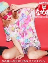 """Name Neko"" Collaboration x ACDC Harajuku Colourful T-shirt"