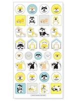 MIND WAVE SEAL  Shiba  Sticker - DESIGN B