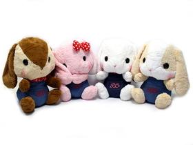 AMUSE  Poteusa Loppy Rabbit Plush Denim Collection