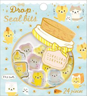 Corocorocoronya Collection Drop Seal Bits Stickers