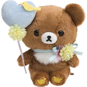 """Korilakkuma meet Chairoikoguma "" Collection - Chairoikoguma plush"