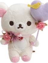 """Korilakkuma meet Chairoikoguma "" Collection - Korilakkuma  plush"