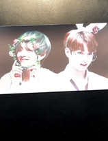 BTS    banderoll  - JUNGKOOK & V