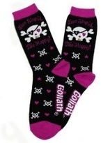 DG Live Stupid, Die Crazy Crew Socks