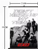 EXO  Don't  Mess Up My Tempo  Wallroll Poster - small