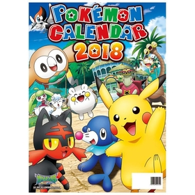 2018 Pokemon Wall Calender