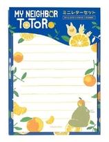 My Neighbor Totoro  ummer Mandarin orange Serie mini Letter Set