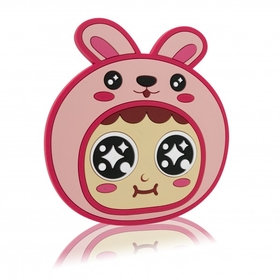 QQ Tumbler  Rabbit Coaster