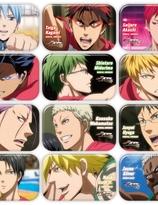 Kuroko's Basketball Badges - Random pack