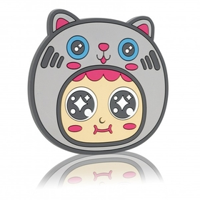 QQ Tumbler cat coaster