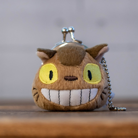 My Neighbor Totoro  Cat Bus mini pouch