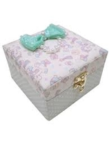 Swimmer Unicorn Jewelry box