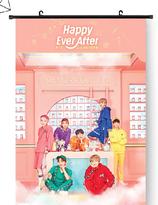 BTS   Wallroll Poster