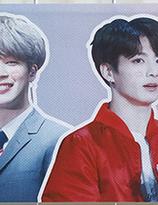 BTS   Banderoll - Jungkook & Jimin