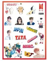 BTS  klistermärken