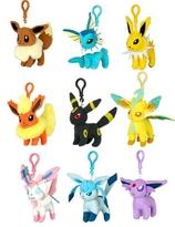Pokemon Plush Keychains 9 cm Assortment Eeveelution