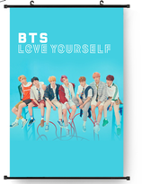 "BTS 《Love Yourself 结 ""Answer》  Wallroll Poster"