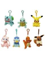 Pokemon Plush Hangers 9 cm Assortment (8)