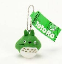 Totoro mini plush plush with chain