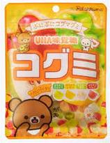 UHA Rilakkuma Asstd Gummi  Candy