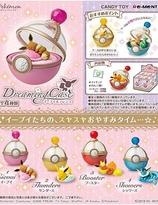 SWE  Dreaming Case Re-ment Blind-Box - Eevee & Friends
