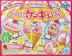 KRACIE POPIN COOKIN  Ice Cream Cake Shop DIY Candy Kit