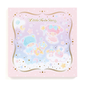 Little Twin Stars  Starry Sky Jewelry Box  Serie - memo note paper