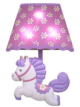 Swimmer Unicorn lamp stickers