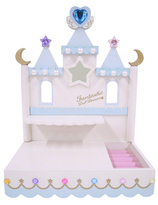 Fairy Tale Castle with Star - White