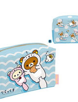 Sea Otters Blue Collection : Rilakkuma Pouch