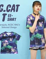 ACDC Galaxy Neko T-Shirt