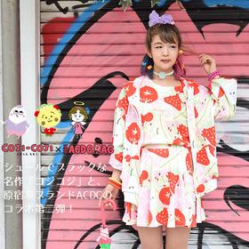 """Koji Koji "" Collaboration  x ACDC  Strawberry Summer T-shirt"