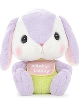 AMUSE  Poteusa Loppy Rabbit Plush -  Sumire-chan