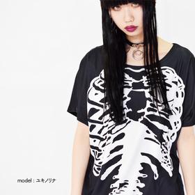 ACDC Harajuku Style SKULL T-shirt