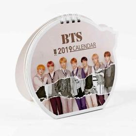 BTS 2019 Bordskalender