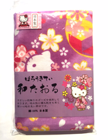 Hello Kitty with kimono sakura collection towel