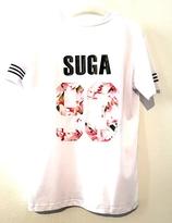 BTS Tshirt - SUGA at the back (Vit)