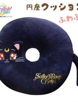 Sailor moon Luna Cat Crystal Fluffy circle cushion