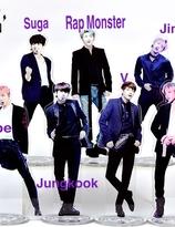 BTS Acrylic Stand