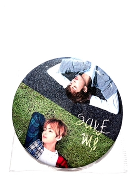 BTS Badge - RAP MONSTER  & V